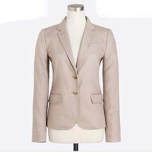 J Crew Blazer Style 37358. Rose pink. 100% Linen
